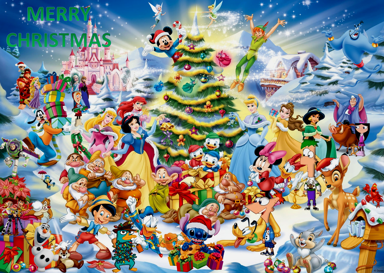 Image christmas wishes png disney fan fiction wiki - Joyeux noel disney ...