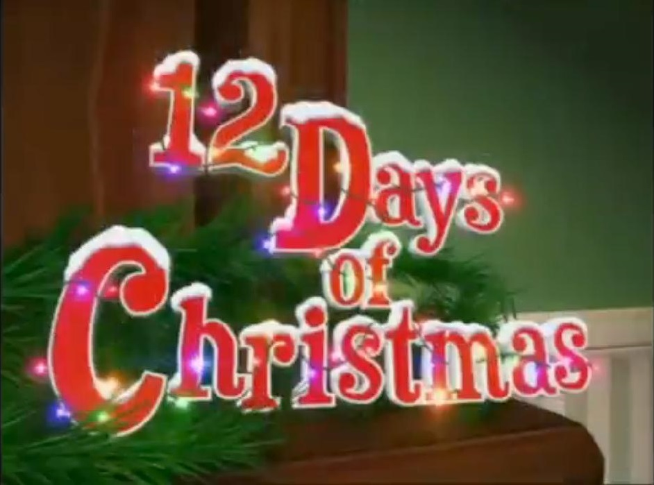 12 days of christmasjpg - Disney 12 Days Of Christmas