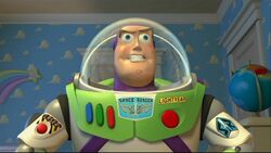 Buzz Lightyear out of the box