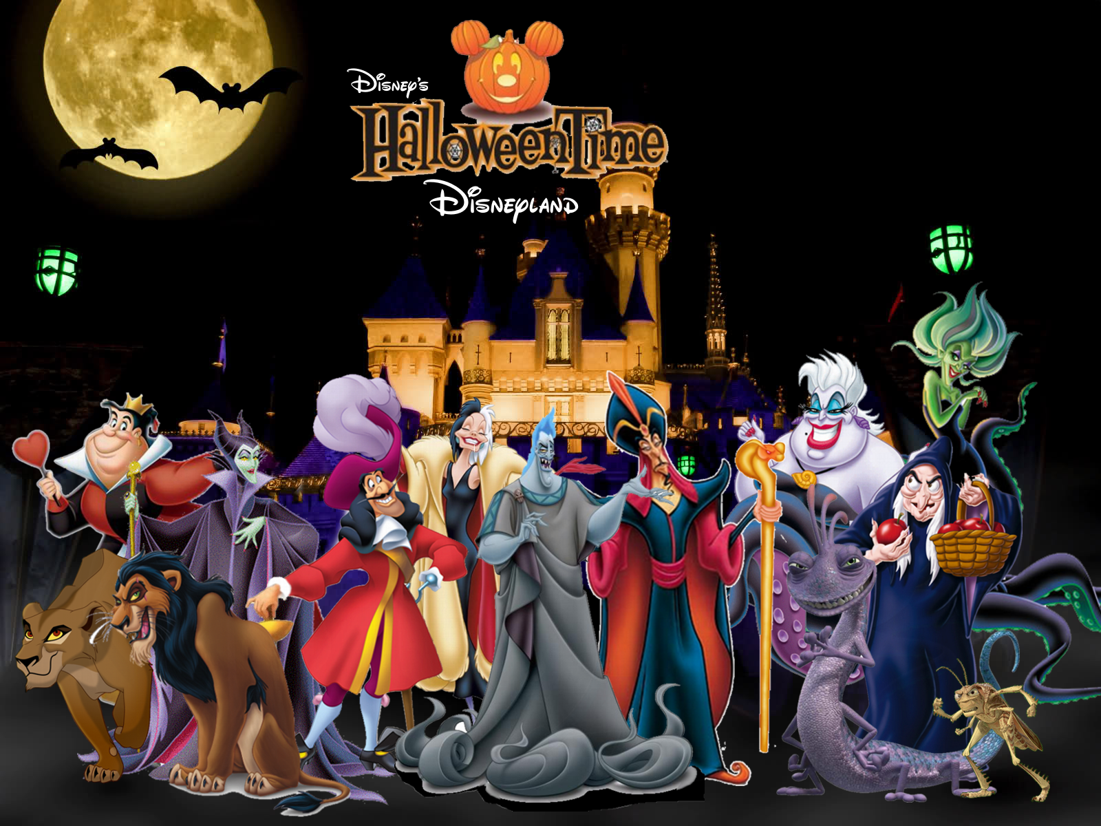 Image - Disney Halloween Time in Disneyland.png | Disney Fan ...