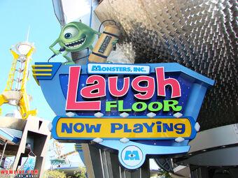 Monsters, Inc. Laugh Floor | Disney Fan