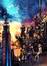 Kingdom Hearts III Official Box Art