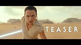 Star Wars The Rise of Skywalker – Teaser