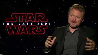 STAR WARS THE LAST JEDI Rian Johnson Interview