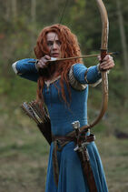 Once Upon a Time - 5x09 - The Bear King - Released Image - Merida with Bow and Arrow