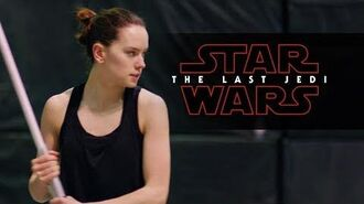 Star Wars The Last Jedi Training Featurette