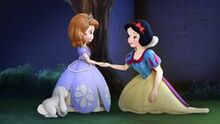 Sofia and Snow White