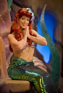 Ariel at Walt Disney World