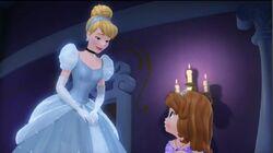 Sofia and Cinderella.JPG
