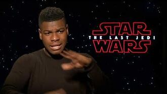STAR WARS THE LAST JEDI John Boyega Interview