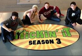 Kickin It Season 3 (Floor Logo)