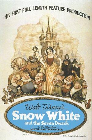 Poster Branca de Neve e os Sete Anões