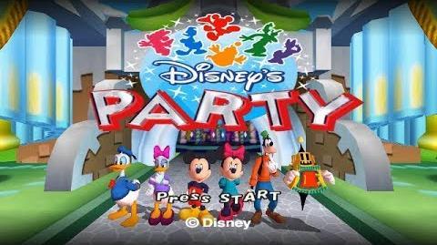 Disney's Party Gamecube Playthrough - Disney's Mario Party Clone
