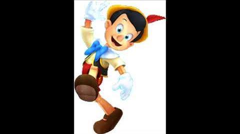 Kingdom Hearts 3D Dream Drop Distance - Pinocchio Voice Clips