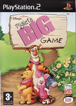 Piglet's Big Game Cover PS2