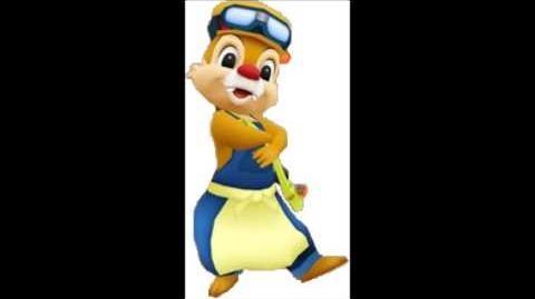 Disney Magical World - Dale Chipmunk Voice