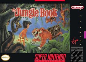 JungleBook SNES game