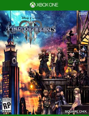 Kingdom hearts 3 boxart