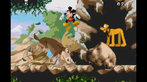 Mickey Mania Longplay (SNES) 60 FPS