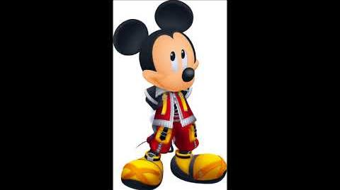 Kingdom Hearts 3D Dream Drop Distance - Mickey Mouse Voice Clips