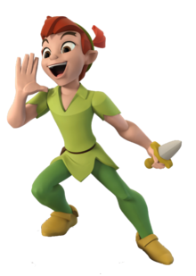 Disney Infinity 3 Peter Pan Render
