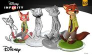 Nick Wilde Disney INFINITY Concept Art