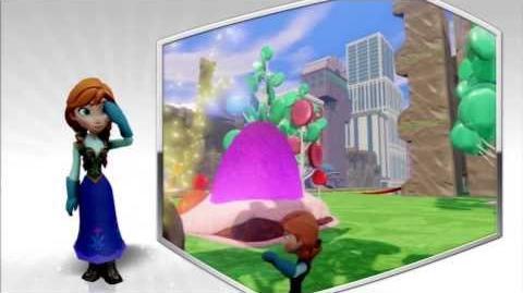 Disney Infinity - Anna Character Gameplay - Series 2