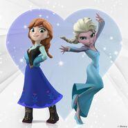 Frozen sisters love