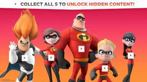 DISNEY INFINITY The Incredibles Collection Trailer