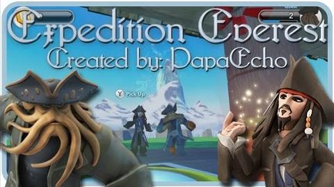 "Disney Infinity 1.0 Toy Box - Davy Jones and Jack Sparrow - ""Expedition Everest"" by PapaEcho"