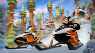 Snowmobiles Racin'