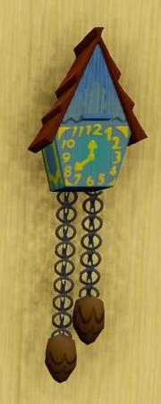 Pooh-Coo Clock