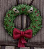 Halloween Town Man-Eating Wreath