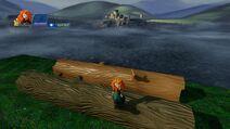 Merida with Log and DunBroch Log