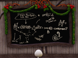 Jack Skellington's Chalkboard