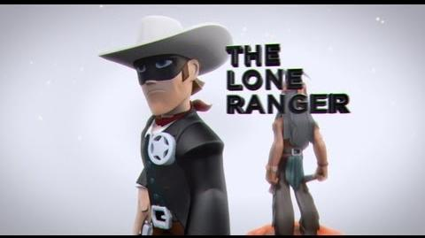 DISNEY INFINITY Lone Ranger Play Set Trailer (UK)