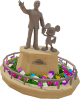 Toy-SetPiece-Disney Partners Statue