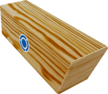 Long Wooden Block