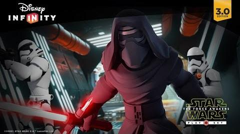 Star Wars The Force Awakens Play Set Official Trailer Disney Infinity 3.0