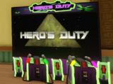 Hero's Duty Arcade Game
