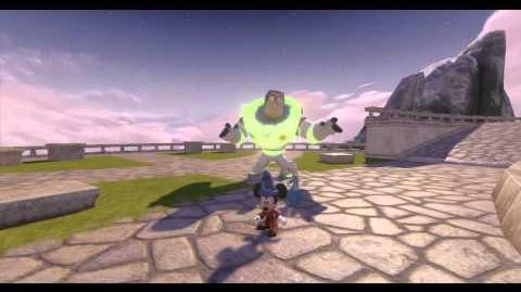 Disney Infinity, Hall of Heroes Glitch Reveals Glow in the Dark Buzz and Infinite Crystal Agent P an