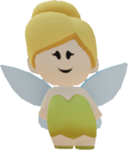 Costume-PeterPan-Tinker Bell Costume