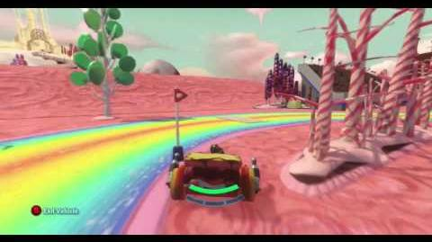 DISNEY INFINITY- Frosting Valley (Featured Toy Box)