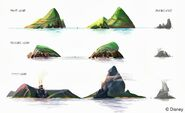 Island Silhouettes Roughs 02