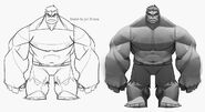 Grey Hulk Concept