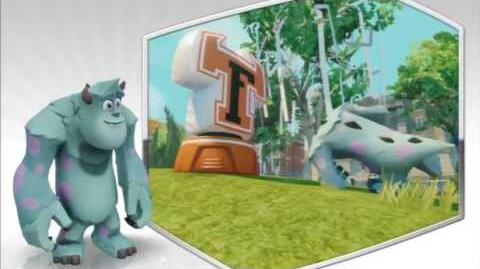 Disney Infinity - Sulley Character Gameplay - Series 1