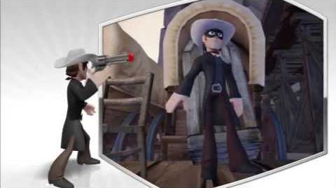 Disney Infinity - The Lone Ranger Character Gameplay - Series 1
