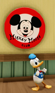 Mickey Mouse Club Sign