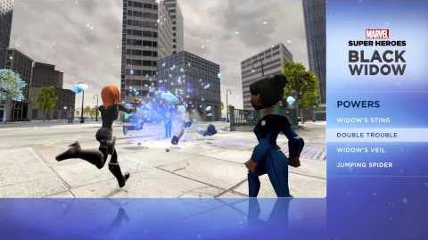 Black Widow - Disney Infinity Marvel Super Heroes (2