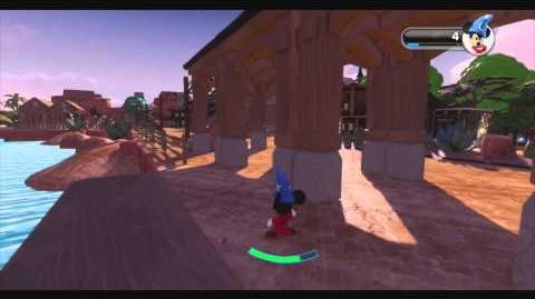 DISNEY INFINITY- Frontierland DLP (Featured Toy Box)